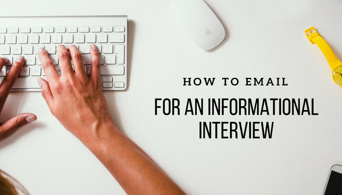 informational interview request letter