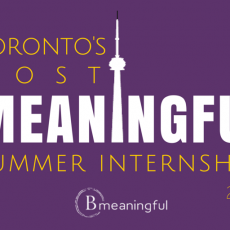 Toronto's Most Meaningful Summer Internships
