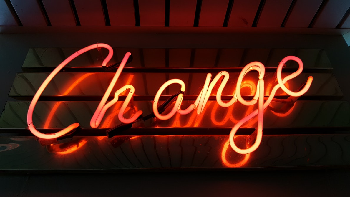 How to know when it is time to embrace change