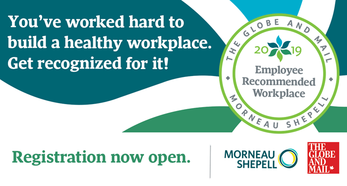 What is the Employee Recommended Workplace Awards?