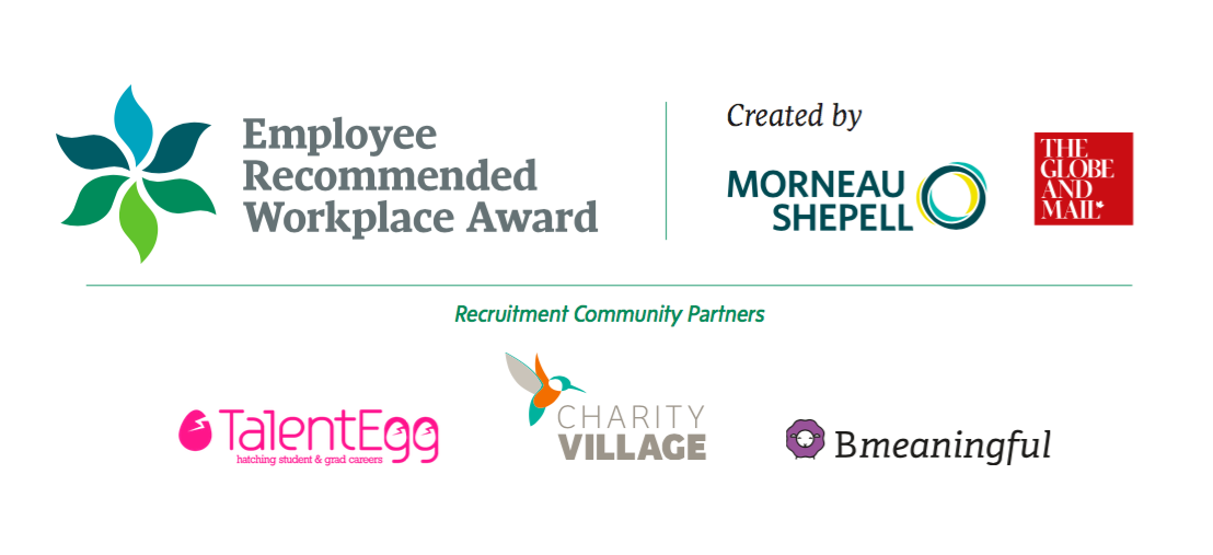 Employee Recommended Workplace Awards finalists have been announced!
