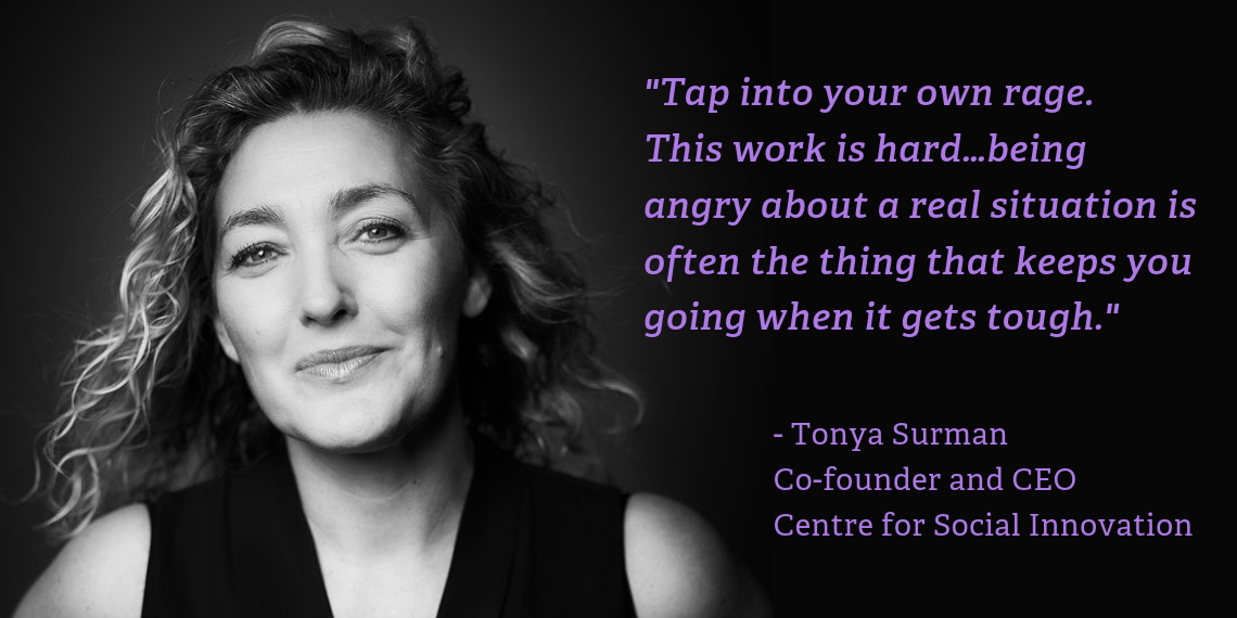 Making an impact with Tonya Surman, Co-founder & CEO of the Centre for Social Innovation