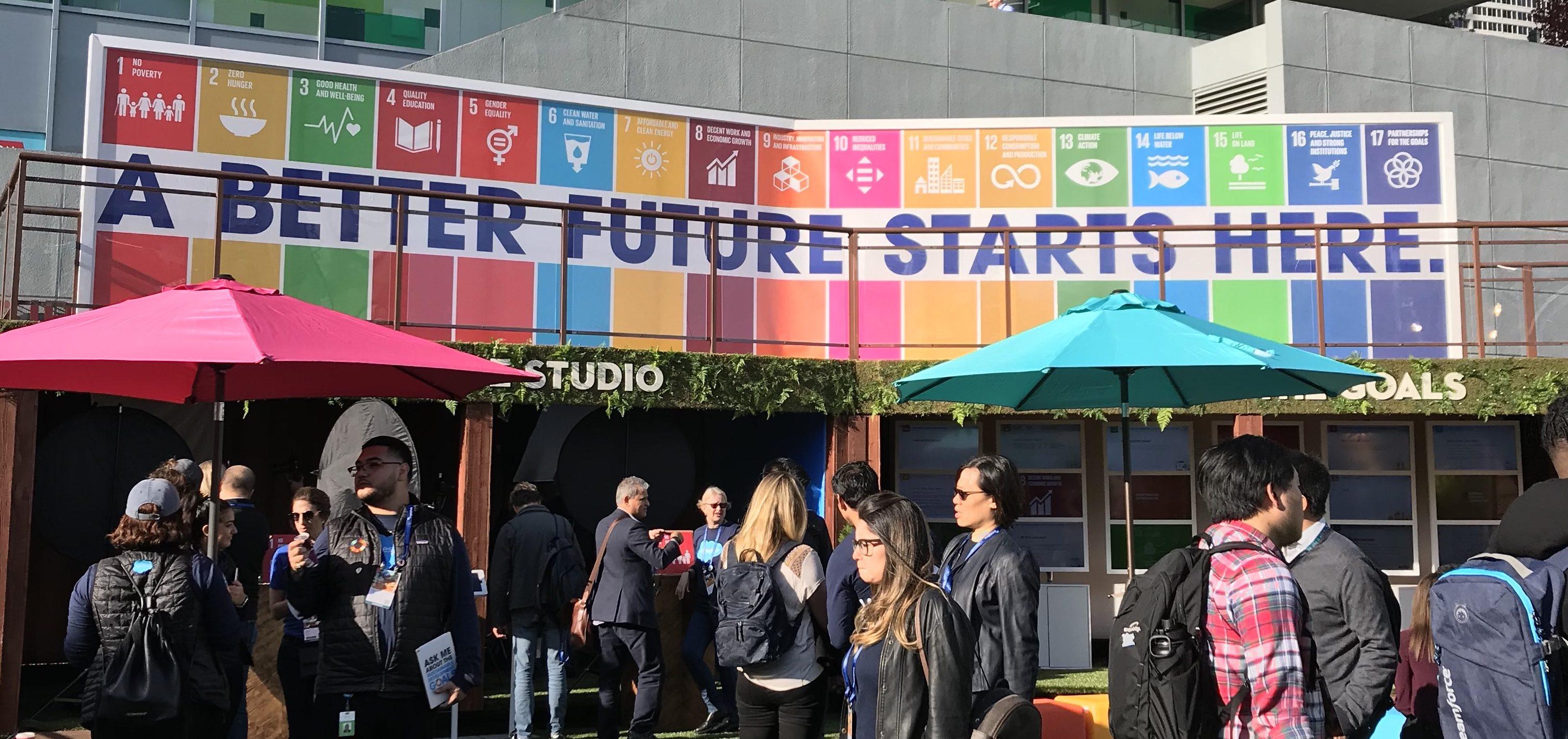 SDGs activation at Dreamforce